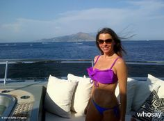 Pin for Later: Sofia Vergara Knows Her Way Around a Bikini  Sofia showed off her bikini body and an amazing view while vacationing in Capri, Italy, in July 2012.  Source: Who Say user Sofia Vergara
