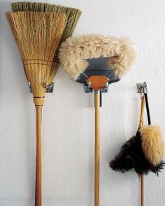 "See the ""Hang Cleaning Tools"" in our Winter Organizing Tips gallery"