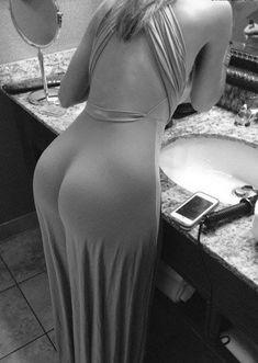 femme ~~~ Really nice booty.