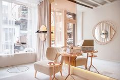 Josefinas Portugal NoLlta Flagship store - Oh so soft and feminine muted palette and textures.