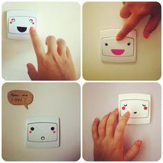 Customiser les interrupteurs - ludique yumicha: DIY #11