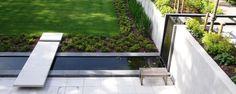 Water-walkway / retaining wall