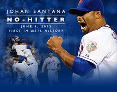 NO-han! -- Mets Ace Santana Tosses 1st No-Hitter in Team History. http://atmlb.com/KFa23h