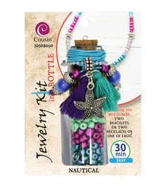 Jewelry Kit In A Bottle-Nautical