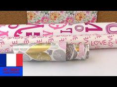 Trois super idées avec du papier cadeau | Eléments créatifs que vous pouvez réaliser - YouTube