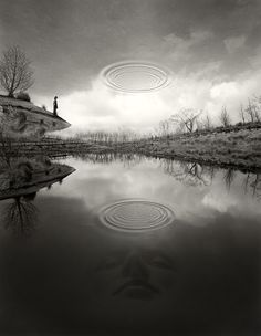 Jerry Uelsmann, The Edge of Silence @artsy