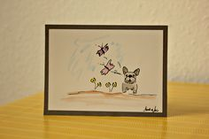 french bulldog art from BoubouleArt #frenchbulldog #frenchbulldogdesign #frenchbulldogart