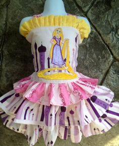 Rapunzel Left the Tower2 pIece Dress SetAMAZING6m by Twirlicious, $72.00