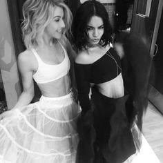 Julianne Hough and Vanessa Hudgens were amazing on Grease: Live.