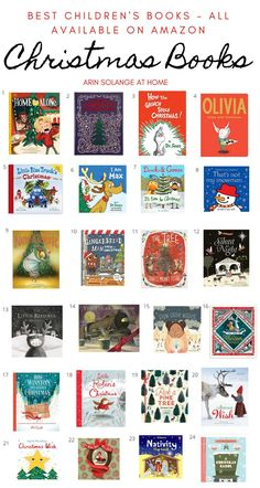 A round up of the best children's Christmas books for display that will doube as decor and be perfect for reading all season long. Childrens Christmas Books, Christmas Books For Kids, Amazon Christmas, Adult Christmas Party, Best Children Books, Christmas Activities, Little Christmas, Holiday Fun, Childrens Books