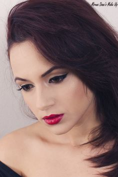 Retro Vibes... Beauty Makeup, Feminine, Retro, Natural, Fashion, Women's, Moda, Fashion Styles, Retro Illustration