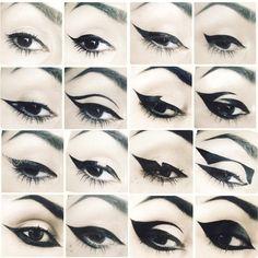 Shop Kat Von D& Tattoo Liner. Explore more of Kat Von D& collection of. Kat Von D Makeup, Maquillage Halloween Clown, Halloween Eye Makeup, Pastel Goth Makeup, Goth Eye Makeup, Pastel Goth Nails, Grunge Nails, Makeup Geek, Red Makeup