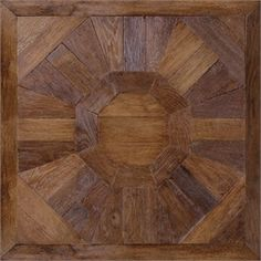 Antique French Oak Flooring: Toulouse Pattern