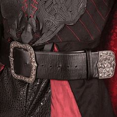 This massive heavy belt is made from faux snakeskin. The Pirate King Belt displays an antiqued nickel buckle and tip. Great for Pirate outfits, this 3 inch wide belt is perfect for carrying your cutlass, daggers, and flintlock. Faux Leather Belts, Leather Buckle, Pirate Costume Accessories, Renaissance Pirate, Renaissance Fair, King Costume, Hobbit Costume, Medieval Costume, Peter And The Starcatcher