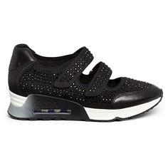 051ea19c99b31 Ash 'Lalle' crystal neoprene sneakers featuring polyvore women's fashion shoes  sneakers black ash footwear velcro sneakers black trainers kohl shoes black  ...