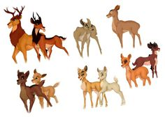 Bambified Lion King. Mufasa/Scar, Zira/Sarabi, Kovu/Kiara, Simba/Nala, and Vitani/Nuka.