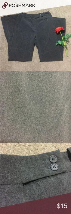 Gray Pants Cute pair of gray pants. Inside button missing. Larry Levine Pants