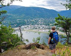 What You'll Want to do if you Have 24 Hours in Nelson, BC - Hike Bike Travel Best Places To Travel, Places To Visit, Adventure Hotel, Lakeside Resort, Discover Canada, Fantastic Voyage, Visit Canada, Quebec City, Lake Life
