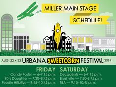 Miller Main Stage Lineup!