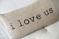 Valentine Pillow  Valentine Decor  Valentines by elisabethmichael, $25.00