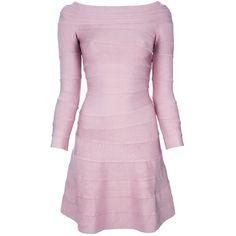 ADM 'TULIP' bodycon dress (2.715 HRK) found on Polyvore
