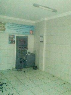 Caixa eletrônico do Bradesco de São Sebastião do Umbuzeiro é arrombado por bandidos