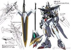 Gundam Asmodeus - a pretty fantastic interpretation by a talented artist and IBO fan! Arte Gundam, Gundam Art, Anime Toon, Mecha Anime, Barbatos Lupus Rex, Armored Core, Gundam Iron Blooded Orphans, Mecha Suit, Gundam Wallpapers