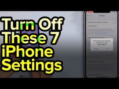 Apple experts David and David tell you about the seven you should turn off immediately. Here are the seven settings to change: iPhone . Life Hacks Computer, Iphone Life Hacks, Computer Help, Cell Phone Hacks, Smartphone Hacks, Iphone Information, Iphone Secrets, Technology Hacks, Tech Hacks