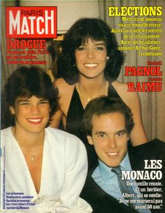 PARIS MATCH N°1673 monaco albert 1991