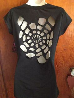 FASHION VIXEN CLOTHING Sexy Cut Out Spider Web Shirt by FashionVixenClothing for $35.99
