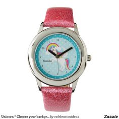 Sold #Unicorn #Watches #kids #fantasy Available in different products. Check more at www.zazzle.com/celebrationideas