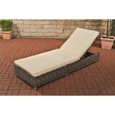 Found it at Wayfair.co.uk - Bario Sun Lounger with Cushion