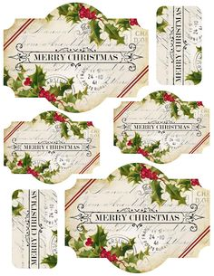 Lilac & Lavender: Free vintage Christmas clip art