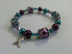 Sexual Assault & Domestic Violence Awareness by TheFearlessBeader, $18.00