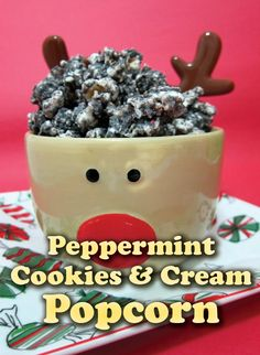 Mmm! Tasty Peppermint Cookies & Cream Popcorn will be the best popcorn recipe you try! It's easy and delicious, and anyone would love it!