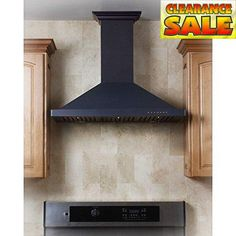 #save ZLINE 30 in. Designer Series #Wall Mount Range Hood with Black #Finish. This 760 CFM wall mounted range hood quietly and efficiently moves large amounts of ...