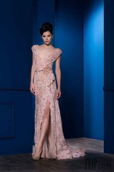 Ali Al Khechen Spring-summer 2016 - Couture Couture Mode, Style Couture, Couture Fashion, Gala Dresses, Quinceanera Dresses, Blush Pink Wedding Dress, Fairytale Dress, Moda Vintage, Pink Gowns