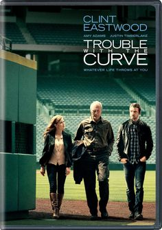 Trouble with the Curve! A new baseball movie out just last year! Perfect to watch in the off season to get yourself excited for opening day!