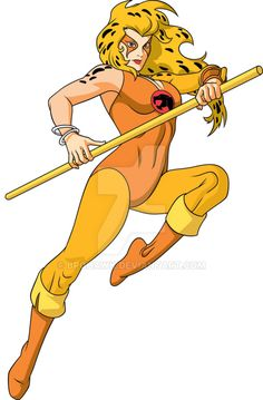 Classic CHEETARA in color for Warnerbros consumer products Color by:Kim Reynolds Thundercats Characters, Cartoon Tv, Girl Cartoon, Comic Art, Comic Books, The Lone Ranger, 90s Cartoons, Classic Cartoons, Fantasy Characters