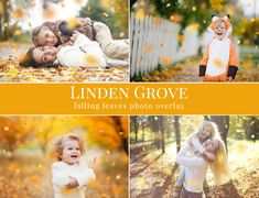 "Fall photo overlays ""Linden Grove"", falling leaves photo overlay, autumn photo overlays for Photoshop Lisa Morales, Photoshop For Photographers, Photoshop Photography, Portrait Photography, Photoshop Elements, Photoshop Actions, Photoshop Tutorial, Lightroom, Photoshop Logo"