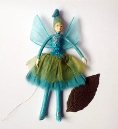 Hey, I found this really awesome Etsy listing at https://www.etsy.com/uk/listing/246141617/ice-fairy-figurine-hanging-fairy
