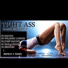 TIGHT ASS - 30 minute workout