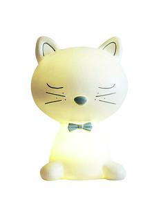 Lampe de chevet chat thème Miaous'tach, Chambre bébé