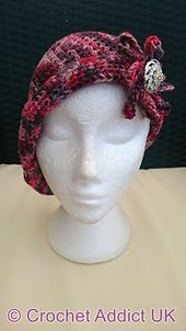 Ravelry: Charlotte Flapper Cloche Hat pattern by Crochet AddictUK
