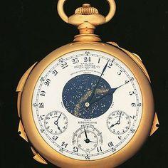 Patek Philippe Henry Graves Super Complication Pocket Watch