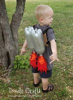 mochila de propulsão