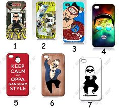 Yes! gangnam style iPhone cases!(: