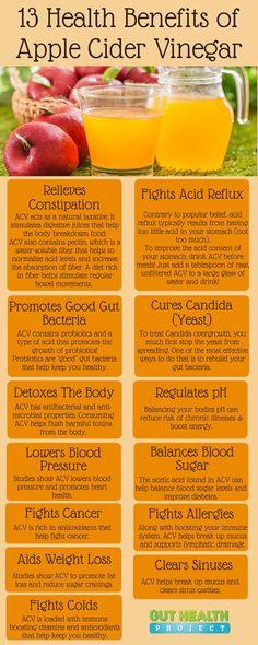 13 Health Benefits of Apple Cider Vinegar