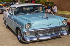 https://flic.kr/p/yd7SQ3 | 56 Chevy | At the Coffee and Cars carshow in Oklahoma City.