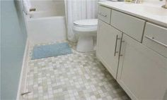 Watch How to Clean a Bathroom Floor in the Better Homes and Gardens Video